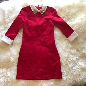 Ted Baker Size 0 Red dress